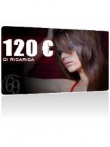 Ricarica da 120 Euro