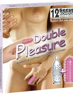 Profilattici Double Pleasure 12pz