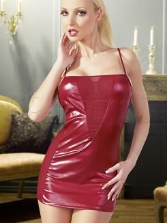 Vestitino Sexy Rosso Lucido