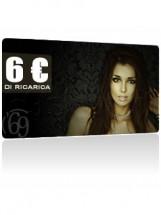 Ricarica da 6 Euro