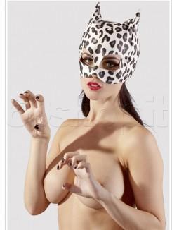Maschera con Orecchie Leopardato