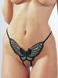 Perizoma Farfalla Nero