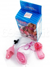 Butterfly Clitoral Pump Rosa