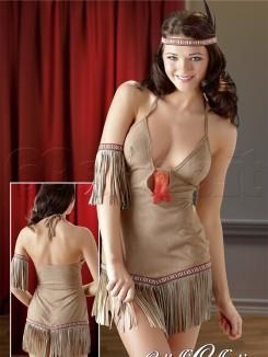 Costume Indiana Sexy Beige